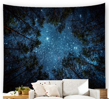 3D Print Starry sky Tapestry Art Decor Throw Funny Blanket Wall Hanging Tapestry Yoga Pad Sleeping Tapestry Novelty Tapestry wall hanging art decor halloween night print tapestry