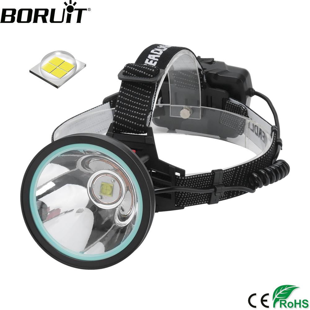 BORUiT K09 XHP-90 LED Sensor Headlamp High Power 8000LM Headlight Rechargeable 18650 Head Torch Power Bank Lantern For Camping