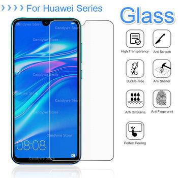 2 5D szkło hartowane dla Huawei Y7Pro Y9 P Smart Plus 2019 P30 P20 Honor 8X 8C 8A 7C Nova 3i 3E folia ochronna tanie i dobre opinie DREAMYSOW Odporna na brud Anti-knock Pokrowiec 9H Tempered Glass Zwykły Przezroczysty