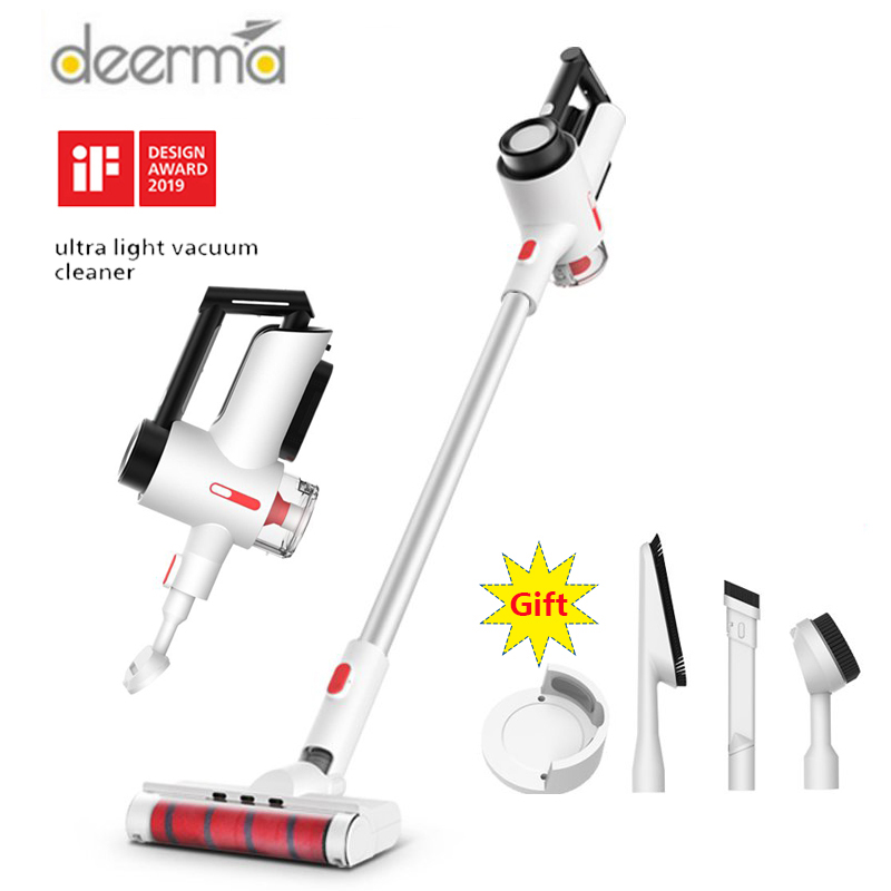 2020 Original Deerma VC40 Handheld Wireless Vacuum Cleaner 15000 Pa Strong Suction Home Dust Collector Aspirador|Vacuum Cleaners| |  -