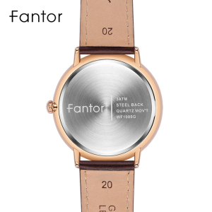 Image 4 - Fantor Minimalist Classic Men Watch relogio masculino Luxury Leather Watch for Man Luminous Hand Date Quartz Watches
