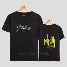 Kpop Stray Kids T-Shirts und Hosen Set Stray Kids Yellow Wood Sportswear-Sets f/ür Damen Top /& Kurze H/öschen Bekleidungssets Sportbekleidung Freizeitkleidung Frauen Kurzarm Blusen T-Shirt