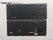 Клавиатура с подсветкой для ноутбука sony vaio svf 15n svf15n