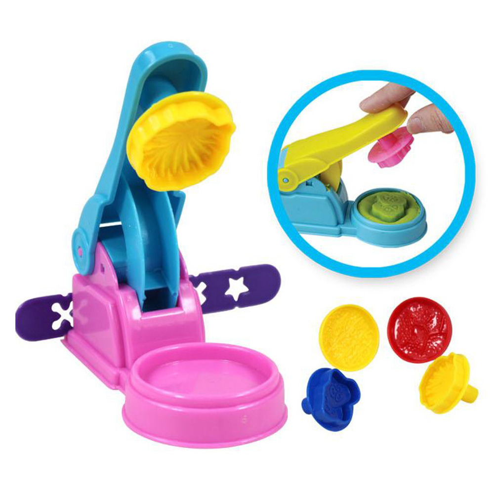Color Play Dough Model Tool Toys Creative 3D Plasticine Tools Playdough Set Clay Moulds Deluxe Set, Learning Education Toys