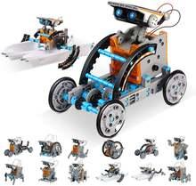 Вынос руля игрушки 13 в 1 обучающая игрушка робот Игрушка Солнечный