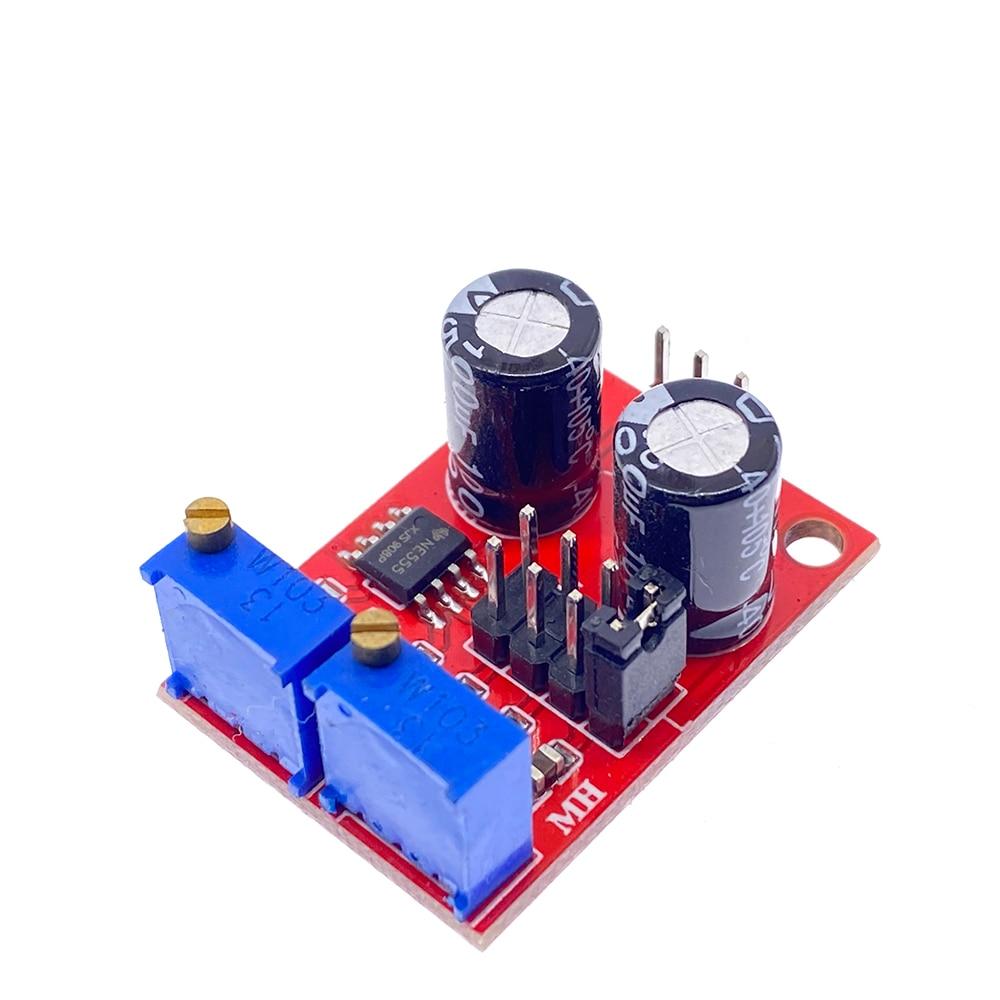 NE555 импульсная частота регулируемый Рабочий цикл квадратные модули прямоугольный генератор сигналов волны Драйвер шагового двигателя