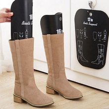 1/2pcs Black Boots Boot Shaper Stands Form Inserts Tall Boot Support Keep Boots Tube Shape For Women And Men