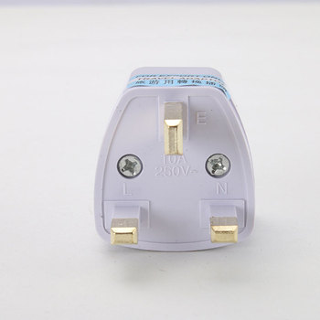 To Universal UK New Converter Gadget Consumer Electronics  UK Plug convert to Universal Plug 1