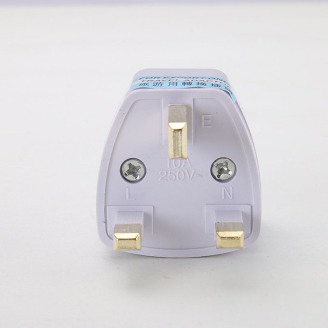 To Universal UK New Converter Gadget Consumer Electronics  UK Plug convert to Universal Plug 1