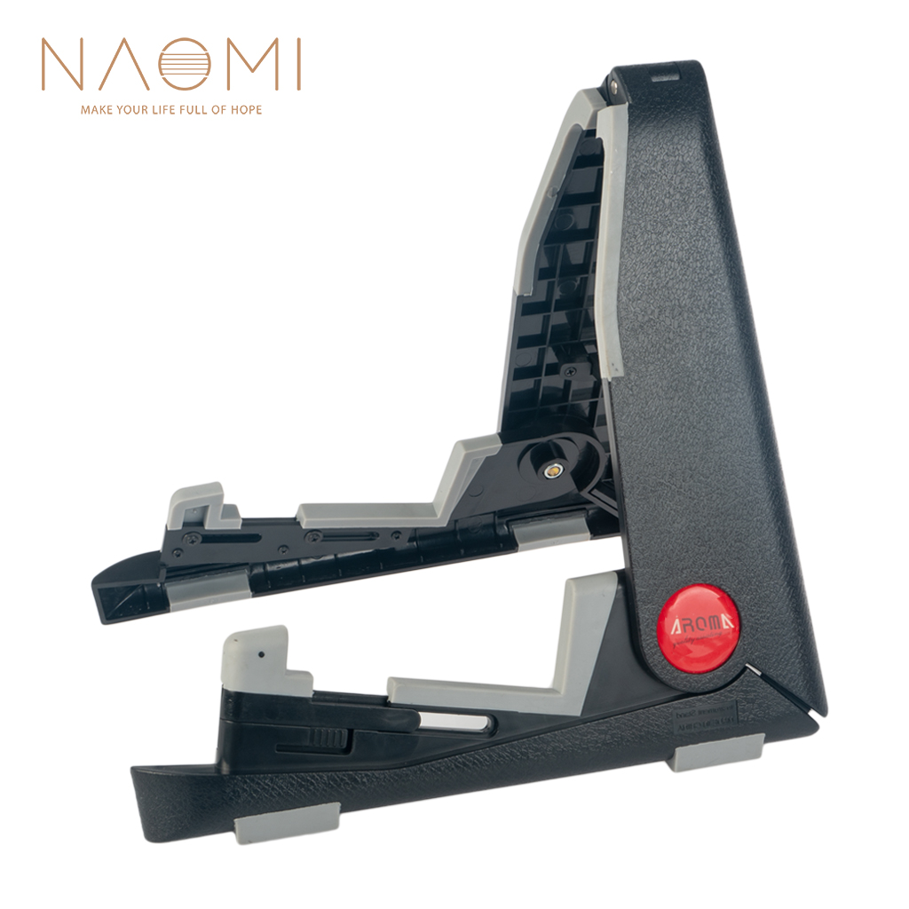 NAOMI Aroma Guitar Stand Folding Guitar Stand Black For Electric Acoustic Guitar Stand Guitar Parts Accessories New
