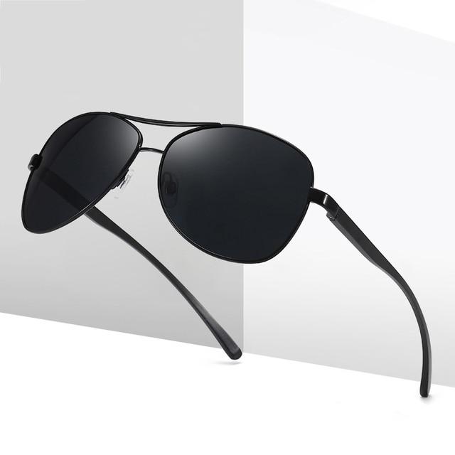 Gafas de sol de aluminio y magnesio para hombre, lentes de conducción de espejo, con revestimiento polarizado, accesorios, novedad de 2020 1