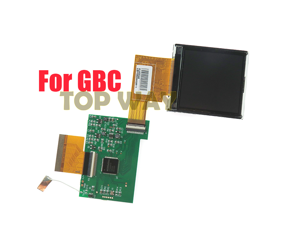 Modification Kit Replacement Accessories For Nintend GBC High Light Screen LCD For GBC 5 Segments Adjustable Brightness Screen