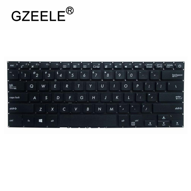 GZEELE US Laptop Keyboard FOR  ASUS S14 UX331 UX430 UX490 S4200UA UQ S4100UN English Keyboard
