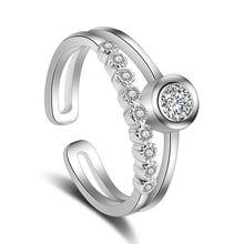 Модные изысканные кольца modaone из стерлингового серебра 925