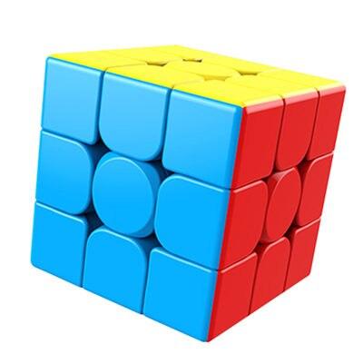 Волшебный куб meilong MoYu 3x3x3, пазл без наклеек, профессиональные скоростные кубики, обучающие игрушки для студентов