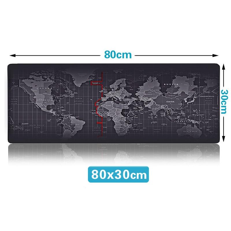 80X30Pad world map