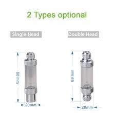 Bubble-Counter CO2 Fish-Aquarium-Tools Carbon-Dioxide Water-Plant-Diffuser Double-Head