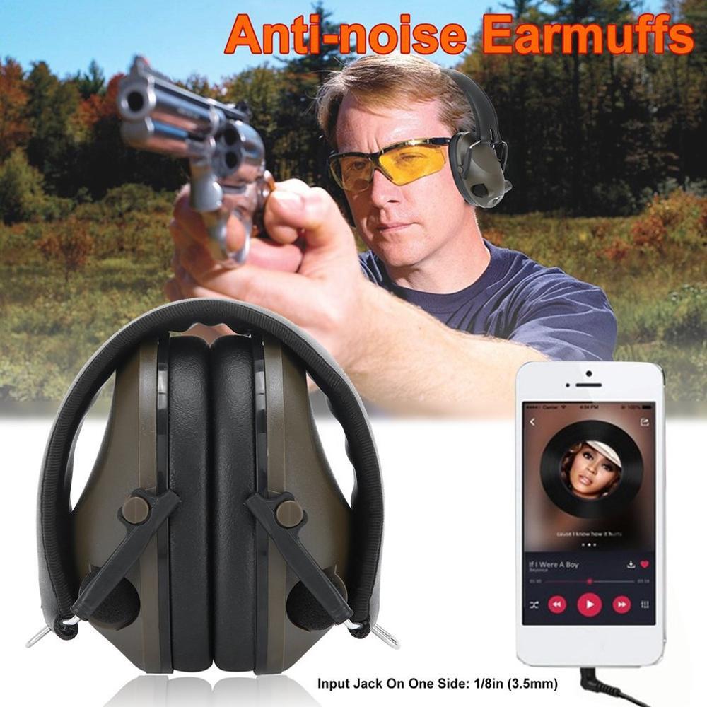 TAC 6s шумоподавление тактическая стрельба Гарнитура Анти-шум Спорт Охота электронная стрельба наушники