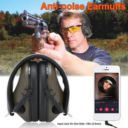 Ear Protector Electronic Tactical Shooting Earmuff Hearing Protection Anti Noise Earplugs Soft Padded Noise Canceling Headset