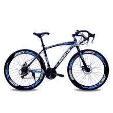 700c City Racing Highway Bike 26 Cal Bend podwójny hamulec tarczowy studenci Cross Country Travel Outdoor Travel kolarstwo szosowe rower