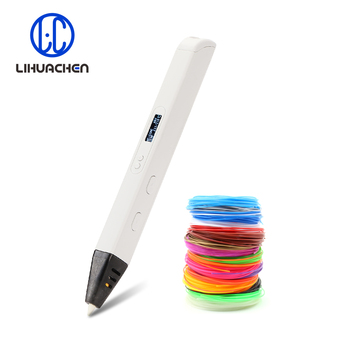 lihuachen RP800A  3D Printing Pen For Kids Drawing Painting Toy Applicable ABS / PLA Filament Material - discount item  48% OFF Office Electronics