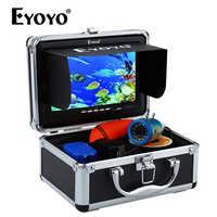 """Eyoyo EF07B 7 """"1000TVL buscador de peces Cámara subacuática de pesca en hielo cámara de vídeo Cámara subacuática lámpara infrarroja buscador de peces pesca en hielo"""