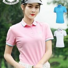 PGM одежда для гольфа женская спортивная летняя одежда с коротким рукавом женская одежда YF189