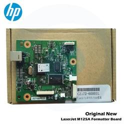 Oryginalny nowy formatowanie zarząd formater pca tablica logiczna płyty głównej płyta główna CZ172 60001 CB409 60001 dla HP M125A HP125A M125 HP1020 1020 w Części drukarki od Komputer i biuro na