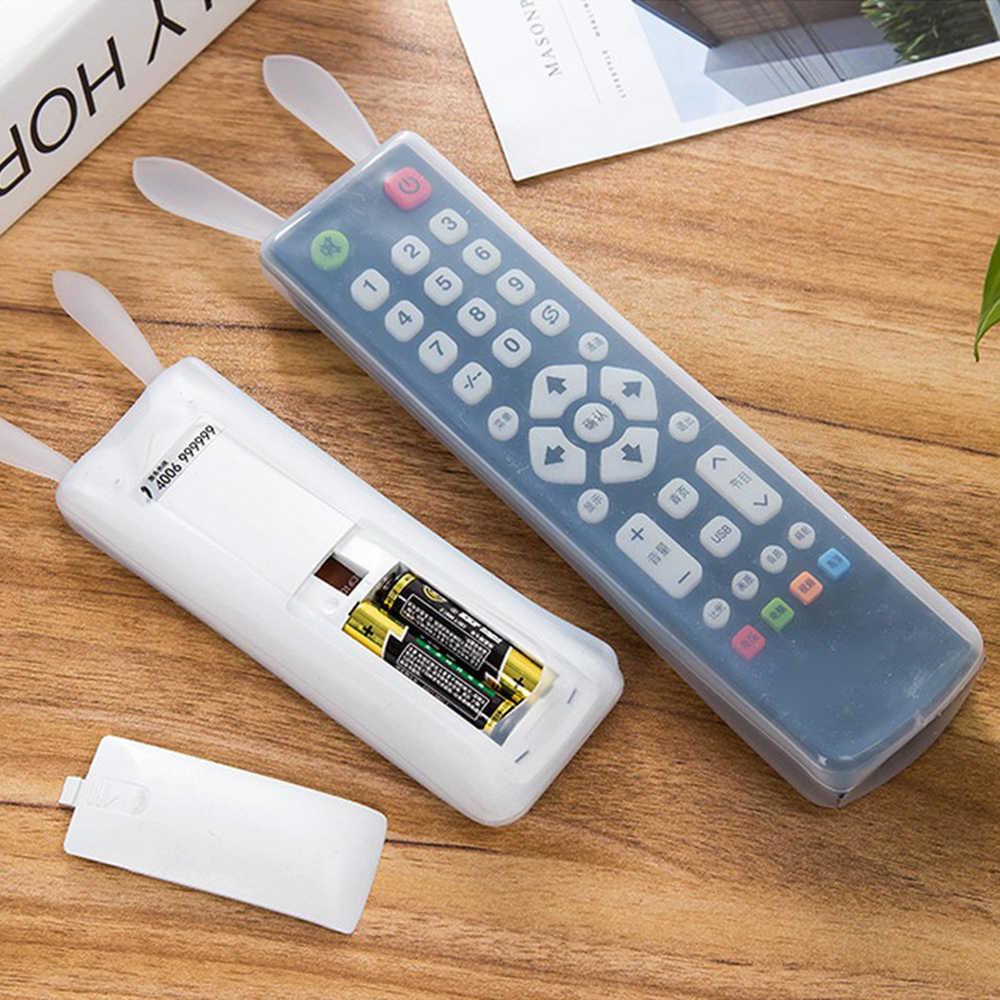 ซิลิโคนรีโมทคอนโทรลป้องกัน Funny Rabbit หูเครื่องปรับอากาศรีโมทคอนโทรลกันน้ำ