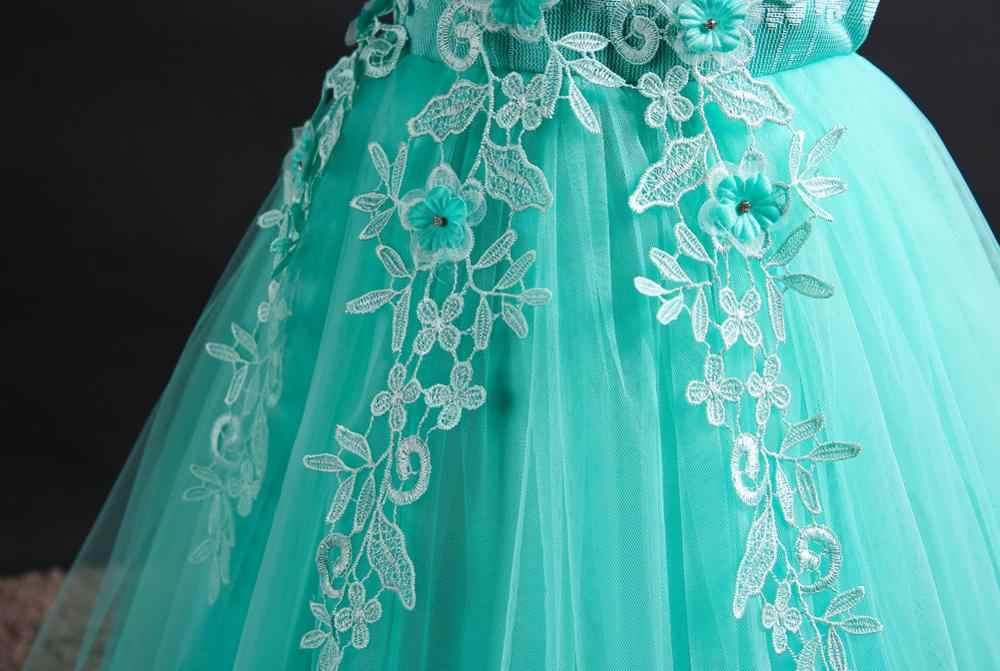 ウェディングパーティードレスレース最初饗宴プリンセスロングドレス 2020 新しい交換ドレスボール美容セクシーな肩のドレス