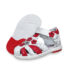 Orthopedic Children Sandals Summer Girl Genuine-Leather Shoes NEW Arch-Support 1pair