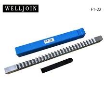 HSS 22 мм F нажимная шпоночная Протяжка с шипами метрические размеры CNC шпоночные режущие инструменты Нож для фрезерного станка с ЧПУ