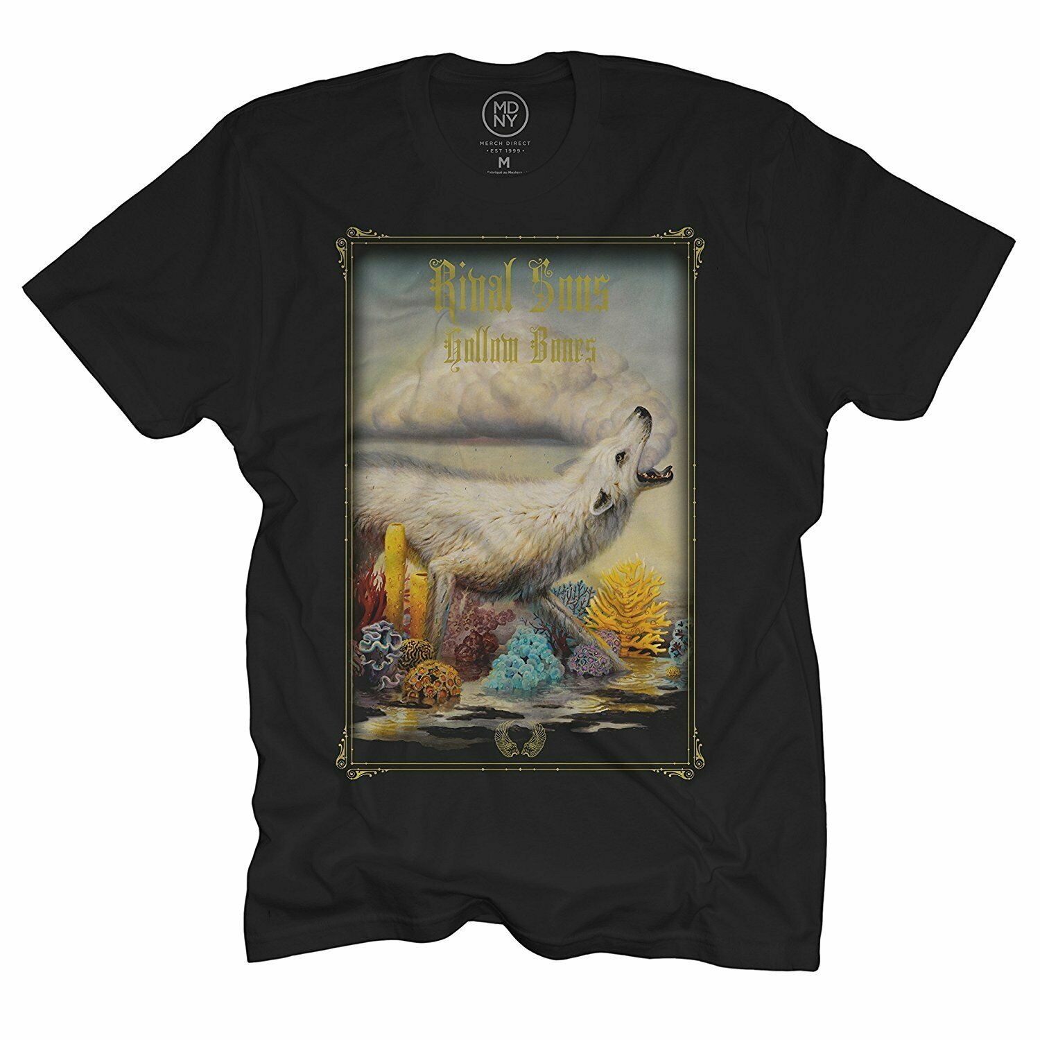 Authentic Rival Sons Band Hollow Bones Album Cover Logo T Shirt Black S 2Xl New