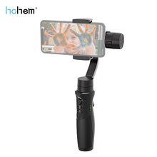 Hohem iSteady Mobile+ 3 Axis Handheld Stabilizing Gimbal High performance composite Support Face Tracking Dual BT stand to 280g