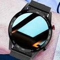 Смарт-часы для Huawei Xiaomi Android Apple Phone 1,3 дюйма 360*360 ЭКГ PPG Смарт-часы для мужчин Android Bluetooth звонок IP68 водонепроницаемый