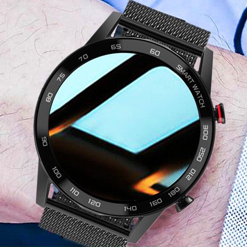 Смарт-часы для Huawei Xiaomi Android Apple Phone 2021 мужские 360*360 ЭКГ PPG Смарт-часы для мужчин Android Bluetooth звонок IP68 Водонепроницаемые