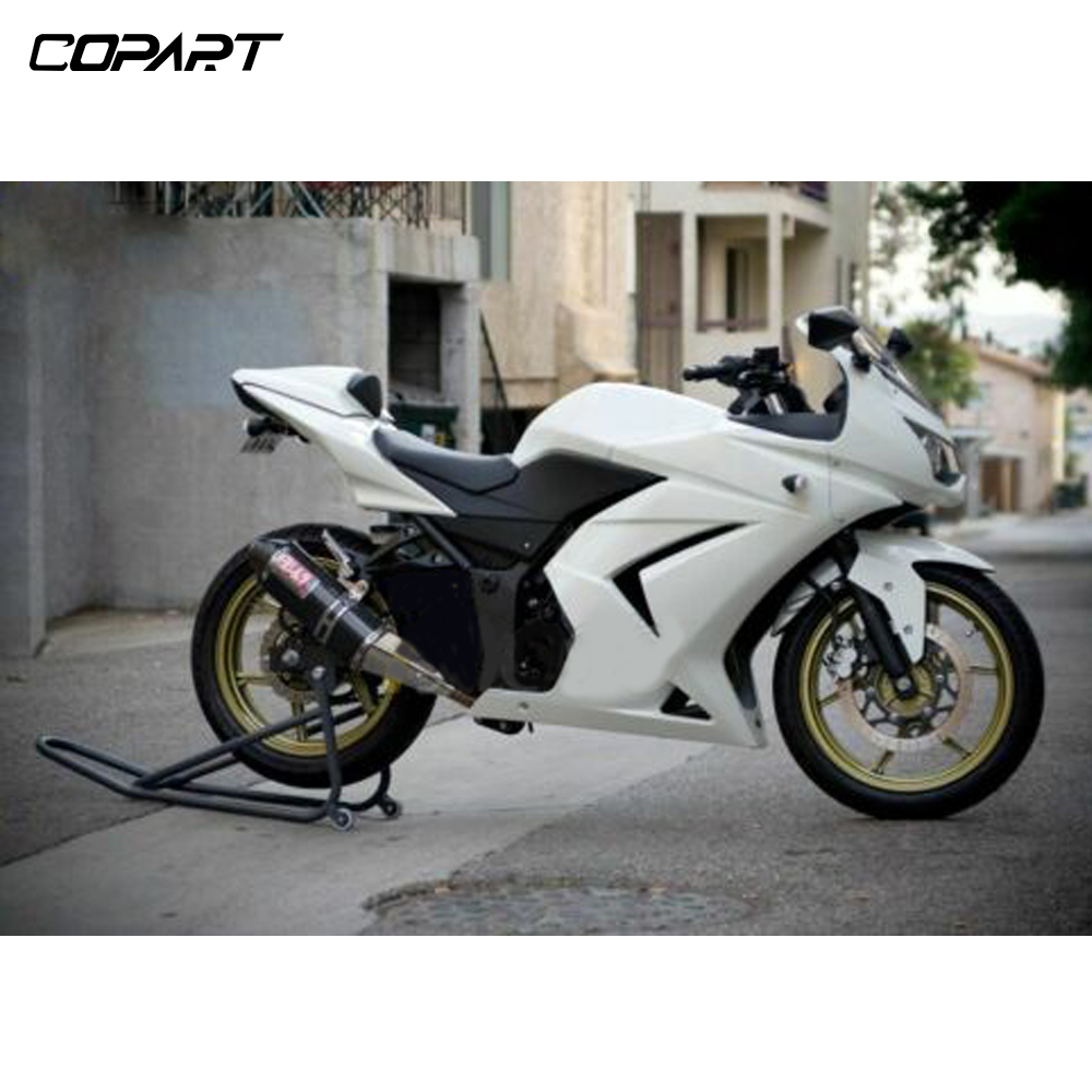 Motorcycle Complete Fairing Panel Kit For Kawasaki Ninja 250R 250 R EX250 EX 250 2008 2009 2010 2011 2012 Pearl White