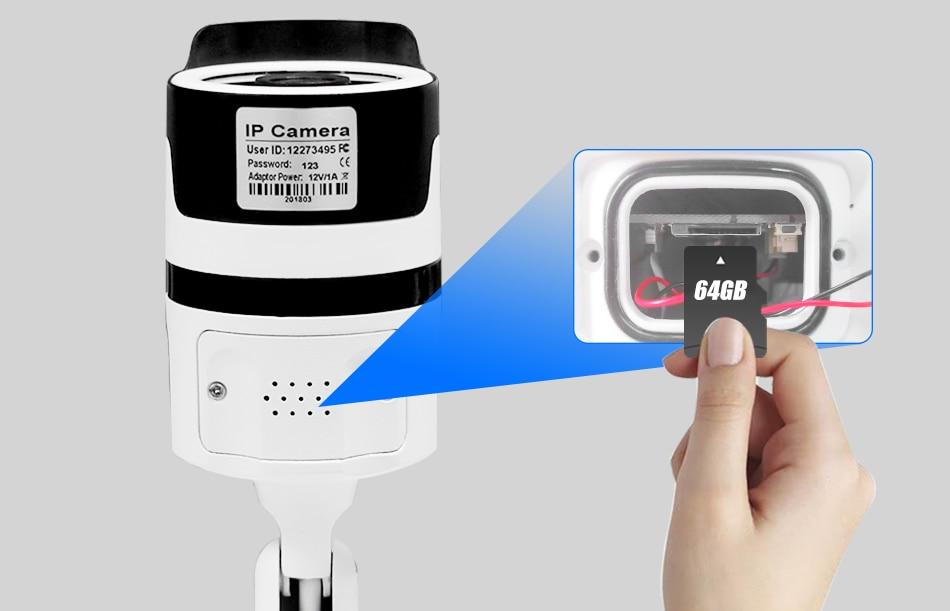 Hiseeu 2MP Wifi Waterproof Outdoor IP Security Camera 18