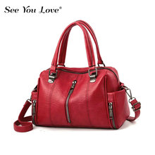 цены New Vintage 2019 Female Bag Ladies Phone Pocket Zipper Woman Handbags Flap Famous Brand Leather Women Shoulder Crossbody Bags