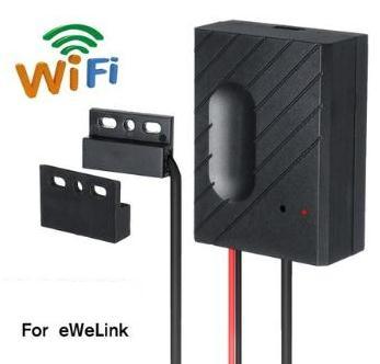 Controlador para Carro Abridor de Porta da Garagem fi para Ewelink Voz para Alexa Interruptor Garagem Porta Controle Remoto Sincronismo ir wi App