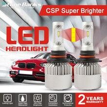 цена на Stone Banks H4 HB2 H7 H11 H8 H9 H16 9005 HB3 9006 HB4 H1 H3 LED Car Headlight Bulbs 100W 20000LM S2 Super Auto Lamps 6000K 12V