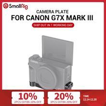 Smallrig G7X Mark Iii Montageplaat W/Twee Koude Schoenen Voor Canon G7X Mark Iii Vlogging Rig Kan Hechten met Microfoon 2433