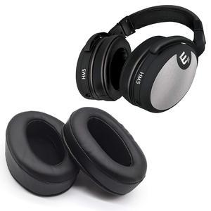 Подходит для Brainwavz HM5, покрытие для наушников, овальное покрытие для ушей, кожаный чехол для ушей, 110*90 мм, губчатая крышка