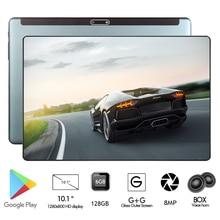 Глобальная версия 6 ГБ+ 128 ГБ 10 дюймовый планшет Octa Core 6000 мАч 1280x800 2.5D Стекло ips 8MP двойной Камера Youtube Медиа Pad WI-FI gps