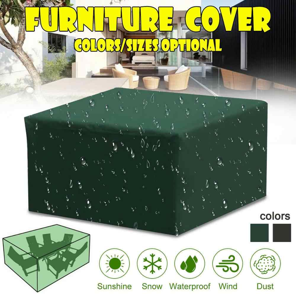 11 Size Waterproof Outdoor Garden Furniture Covers Chair covers for Patio  Table Chair Dust Proof Cover for outdoor furniture