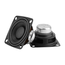 Aiyima 2 pc 2 Polegada 4ohm alto falante gama completa alto falante música de som driver 10 w 15 20 alto falante de rádio diy para o sistema de áudio em casa
