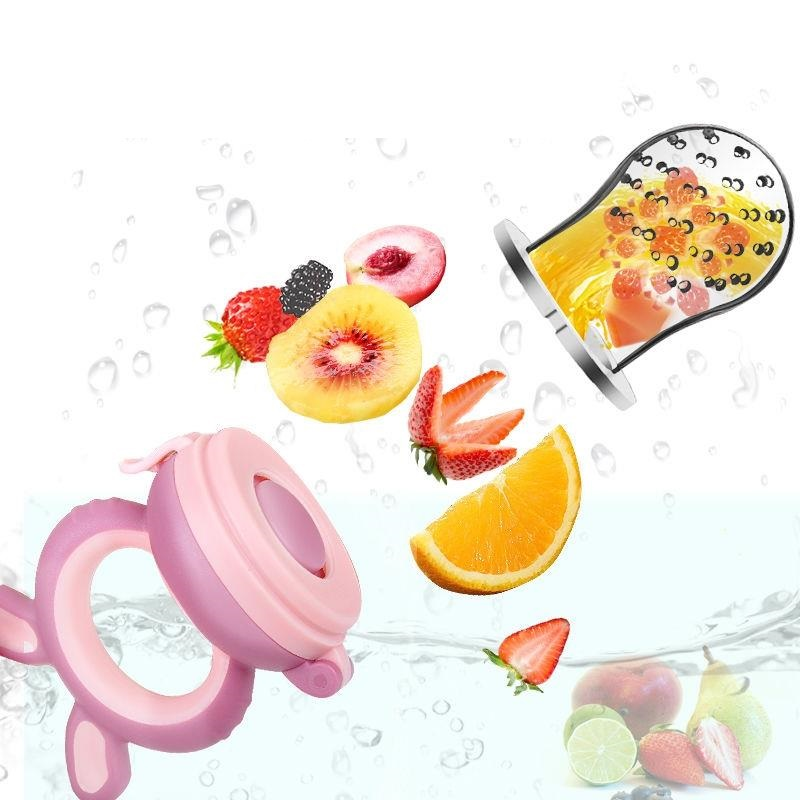 Silicone Baby Pacifier Feeder Infant Fresh Food Fruit Pacifier Infant Nipple Nimbler Bebek Tetine Newborn Chupetero