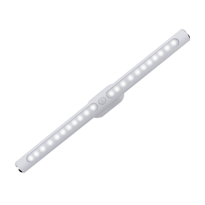 USB Rechargeable 600mah 30cm Night Light Motion Sensor LED Cabinet Light Kitchen Bedroom Rod-like Wireless Closet Night Lamp