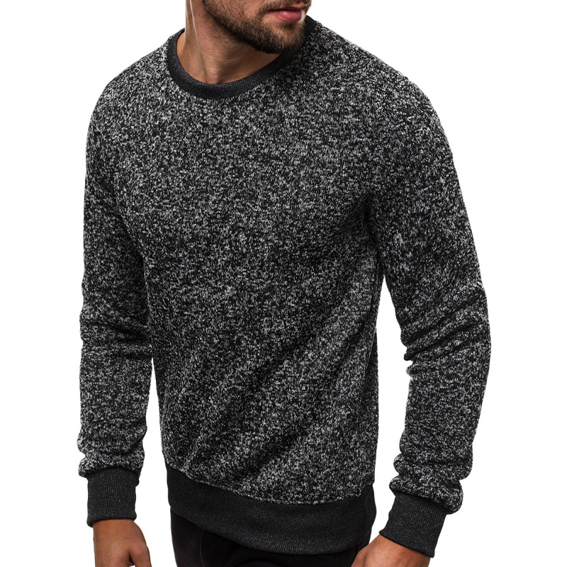 Men\\\\\\\'s Sweaters Male Pullover Autumn Knitted Casual Fashion Long Sleeve