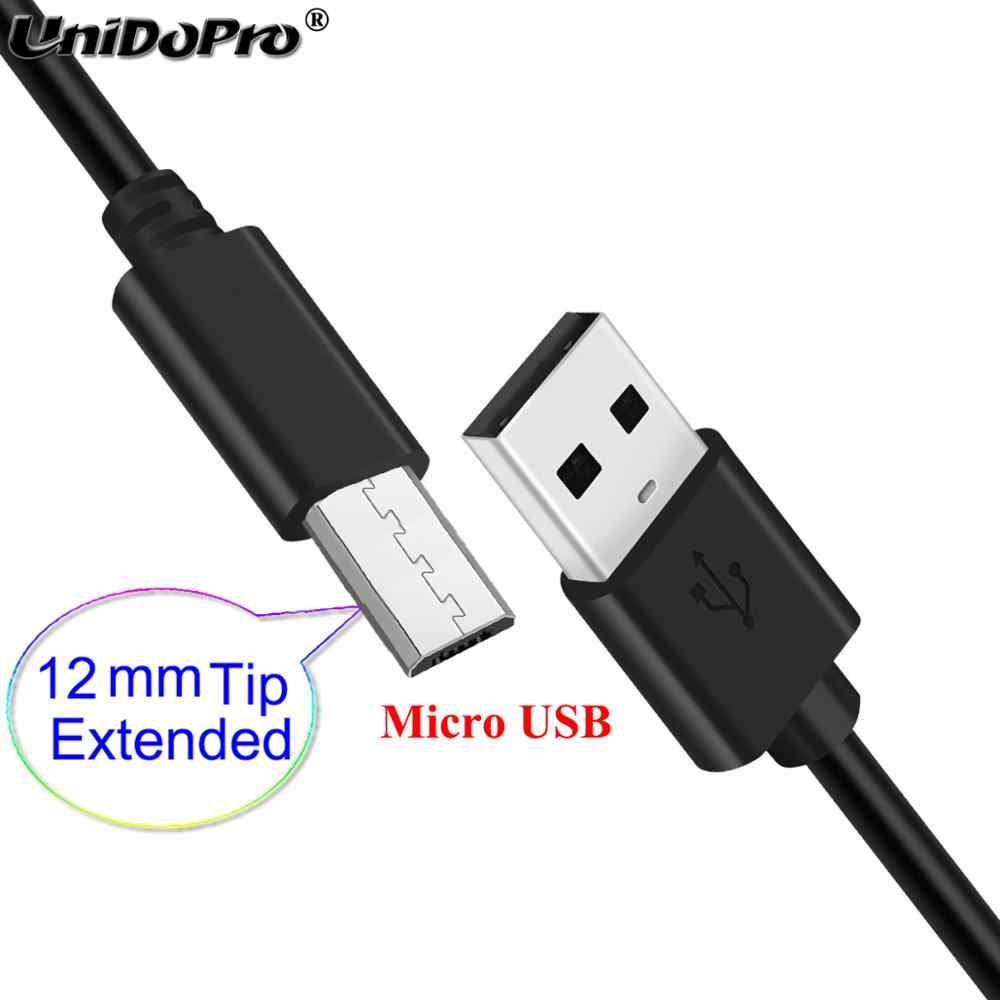 12mm bardzo długi kabel Micro USB do MyPhone Hammer Bolt